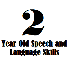 2 year old speech and language skills