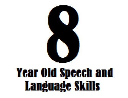 8 Year Old Speech and Language Skills