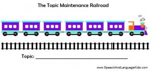 Topic Maintenance Railroad