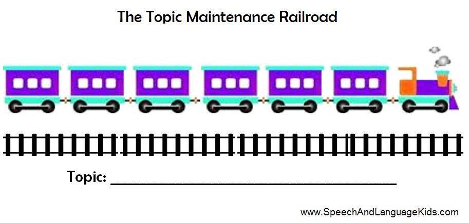 Topic Maintenance Railroad