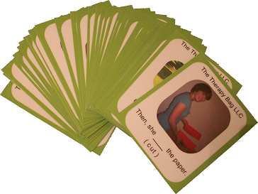 Past Tense Verb Flash Cards