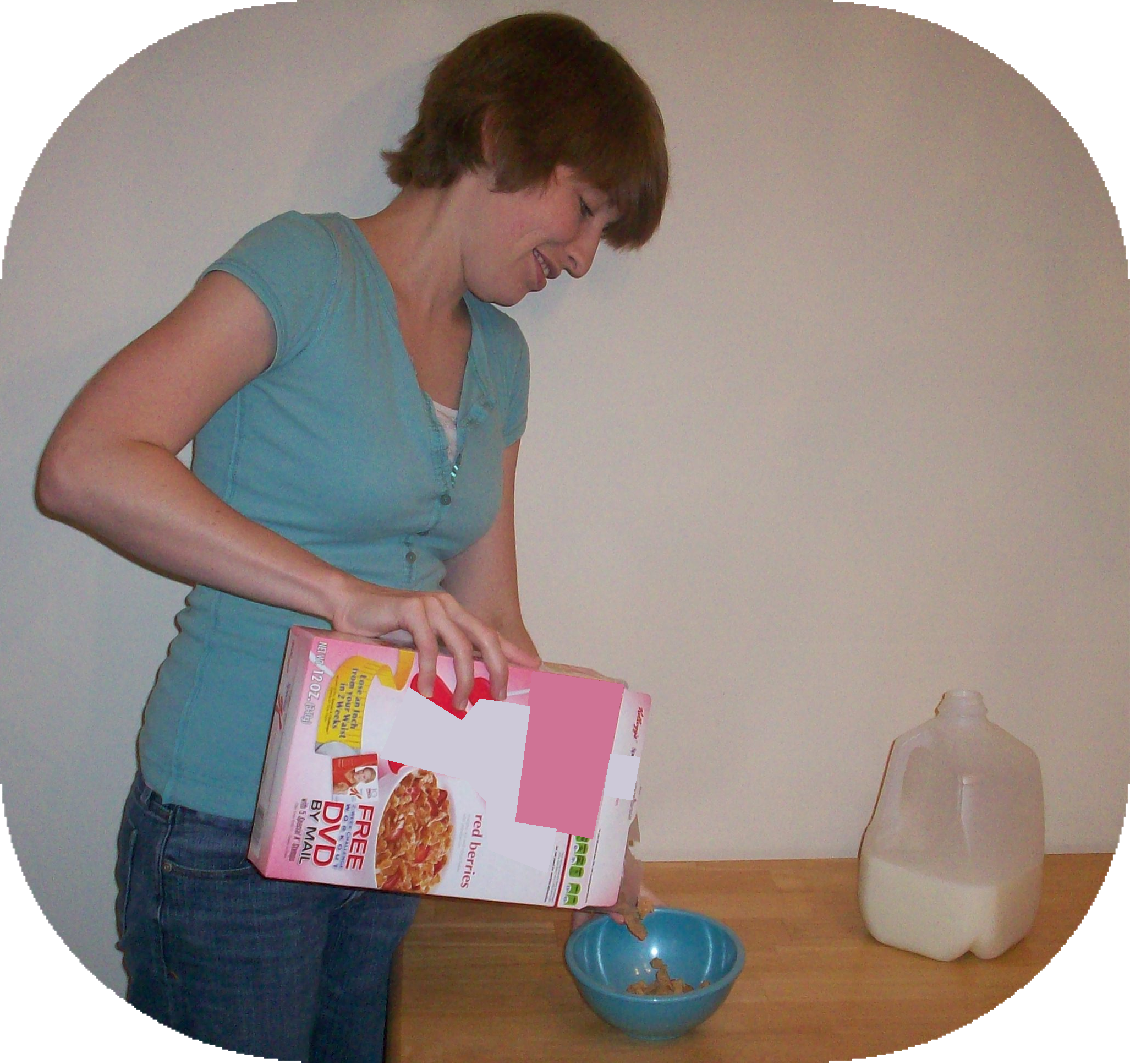 pour cereal 2