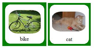 Articulation Cards: CV, VC, CVC, CVCV