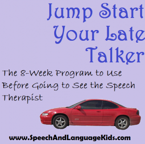 Jump Start Late Talkers