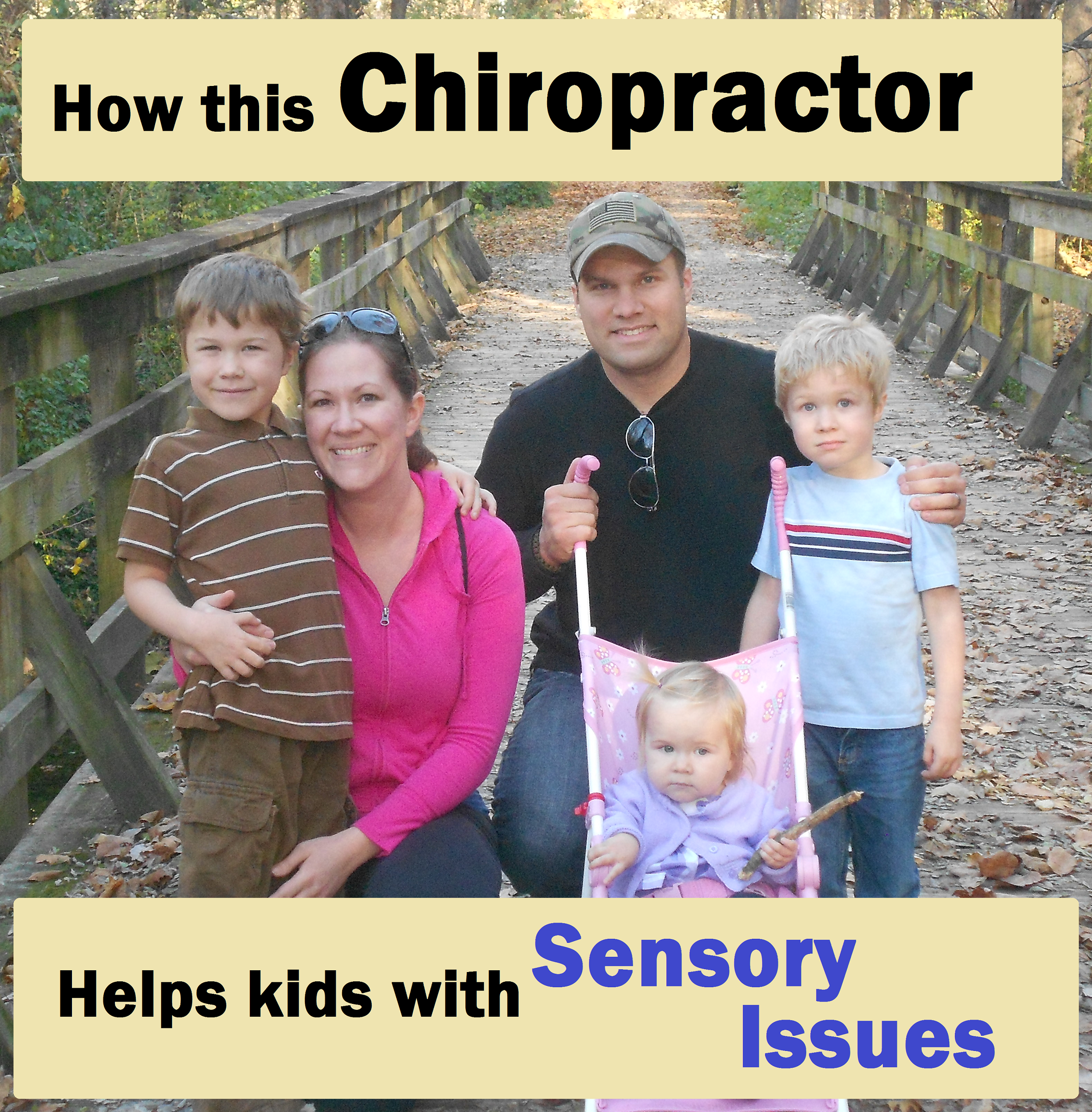 how this chiropractor helps kids with sensory issues