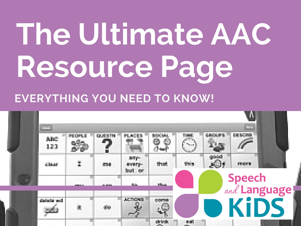 the ultimate aac resource page