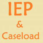 IEP and Caseload