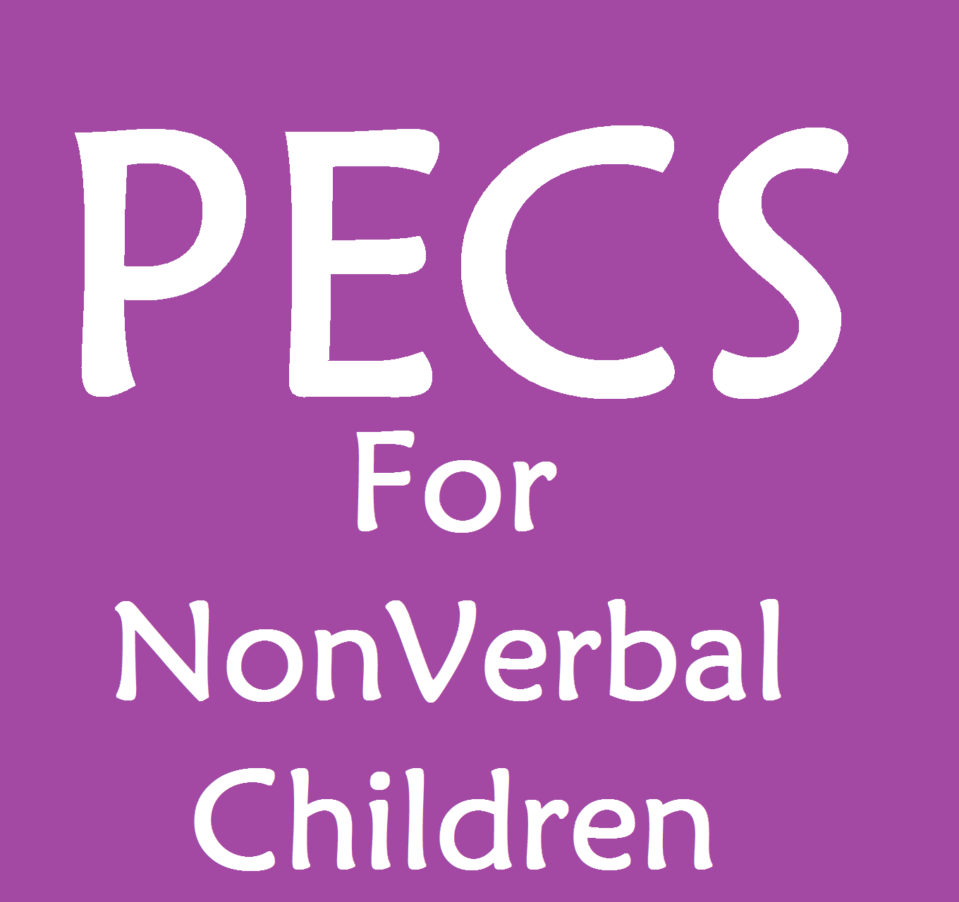 How Pecs Brings Speech To Non Verbal Children Speech And