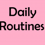 speech and language in daily routines