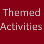themed activities for speech and language