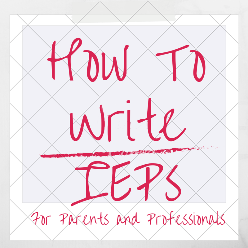 How to write an individualized education plan