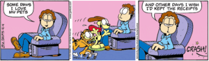 3-23-15 Garfield Comic Strip
