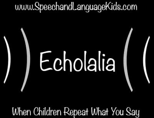 Echolalia When Children Repeat What You Say  Speech And