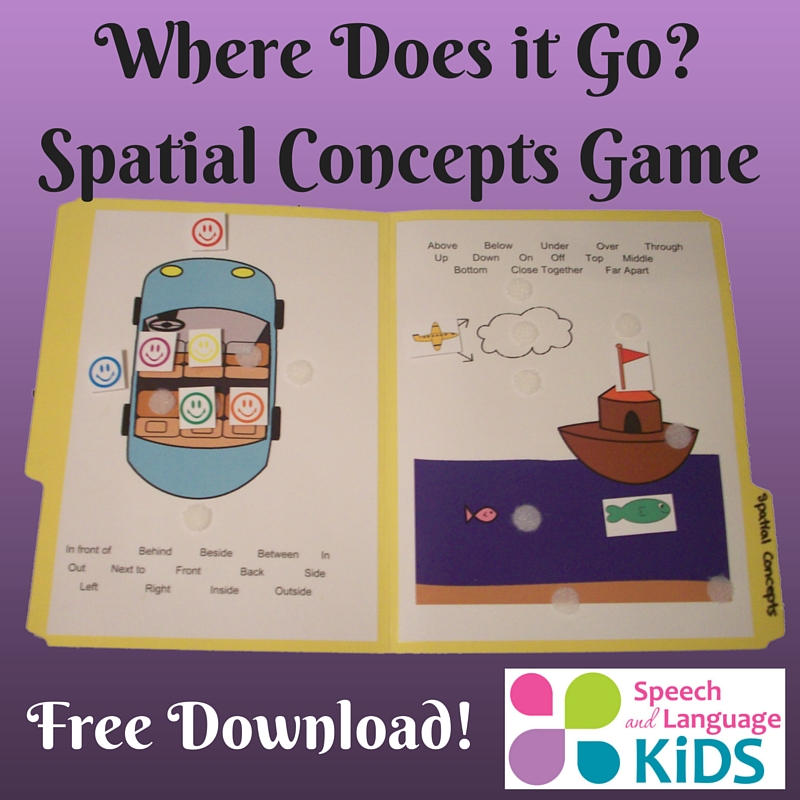 11 free speech therapy materials from speech and language for Fish oil for toddlers speech delay