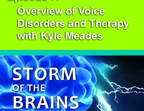 SOTB7: Overview of Voice Disorders and Therapy with Kyle Meades