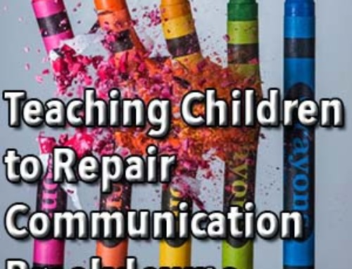 Teaching Children to Repair Communication Breakdowns