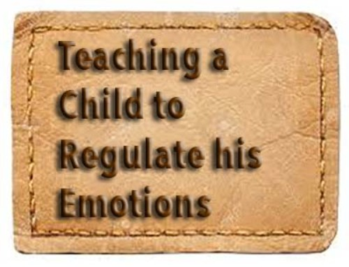 Teaching a Child to Regulate his Emotions