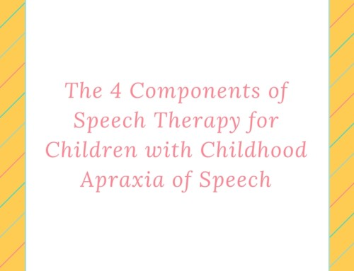 What to Work on in Speech Therapy for Children with CAS
