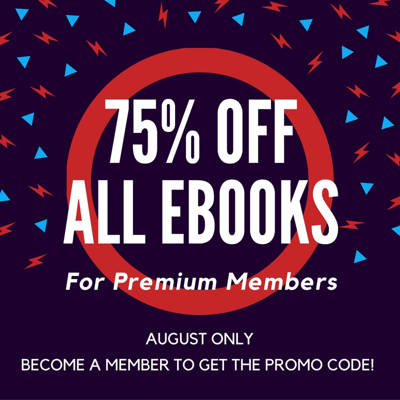 75% Off eBooks for Members This Month