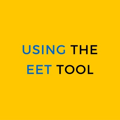 Using the EET Tool