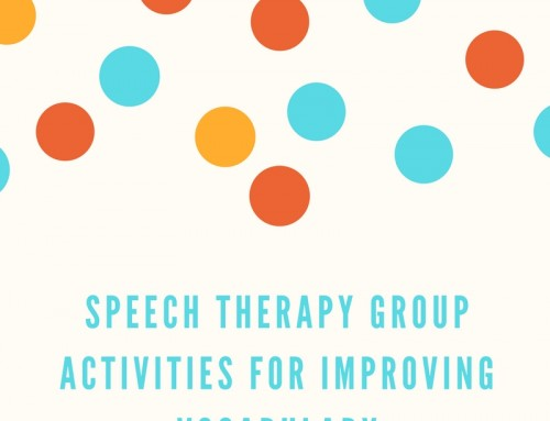 Speech Therapy Group Activities for Improving Vocabulary