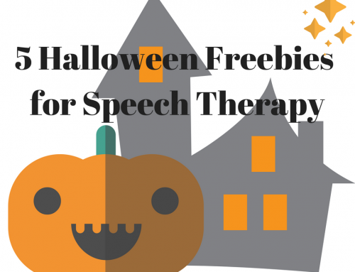 5 Best Halloween Freebies for Speech Therapy