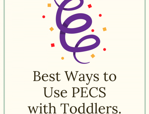 Best Ways to Use PECS with Toddlers