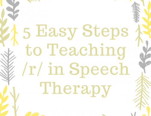 5 Easy Steps to Teaching /r/ in Speech Therapy