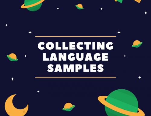Collecting Language Samples
