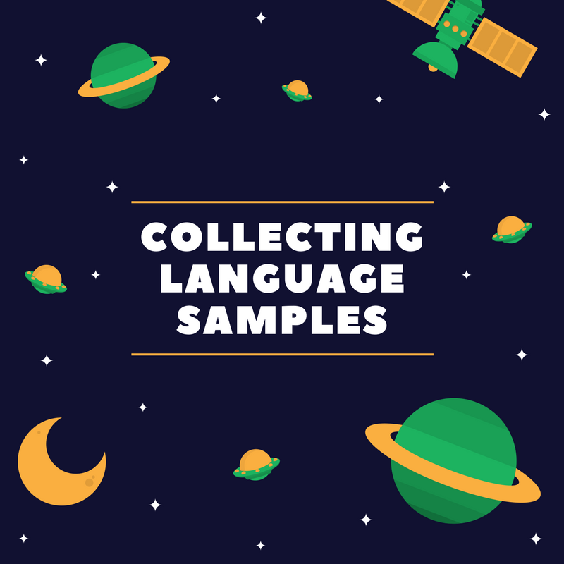 Collecting Language Samples