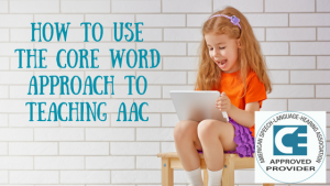 Core Word for AAC Image