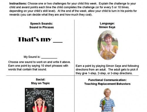 Week 7 – Summer Speech Challenge